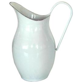 Lampetkan wit met blauwe rand, 25 cm