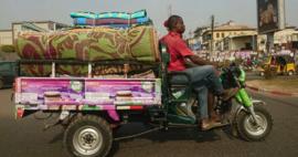 Plastic vloerkleden Afrika