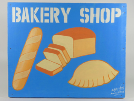 "Uithangbord 50 x 40 cm, 'Bakery Shop"""