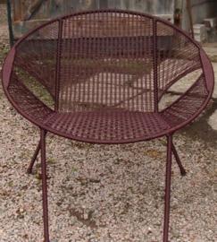 Owusu chair nr. 36 Ghanese kuipstoel Effen bruin