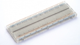 Clear breadboard with BB-Wiring kit