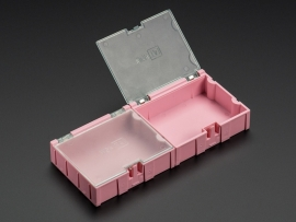 Medium Modular Snap Boxes - SMD component storage - 2 pack