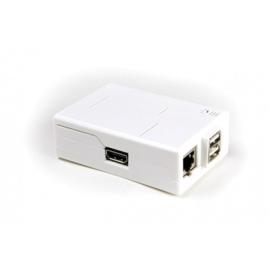 Raspberry Pi Model B + ModMyPi Case White