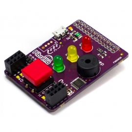 PiBrella - LED, Buzzer, I/O Driver Add-On Board