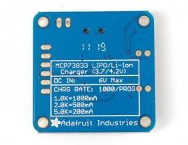 Adafruit USB LiIon/LiPoly charger - v1.2