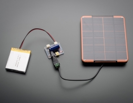 USB / DC / Solar Lithium Ion/Polymer charger - v2