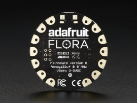 FLORA - Wearable electronic platform: Arduino-compatible - v2