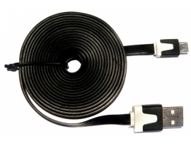 Noodle - USB to Micro USB Cable (2m Black)