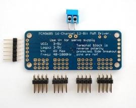 PCA9685 16 Channel 12-bit I2C PWM/Servo driver
