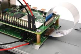 """Raspberry Pi 7"""" 800x480 DSI Touchscreen Display"""