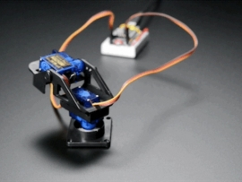 Mini Pan-Tilt Kit - Assembled with Micro Servos