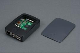 Official Raspberry Pi 3 Model B, 2 B, B+ Development Board Case, Black, Gray