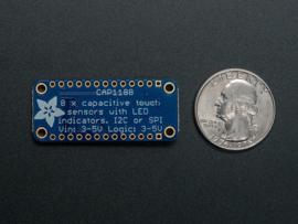 CAP1188 - 8-Key Capacitive Touch Sensor Breakout