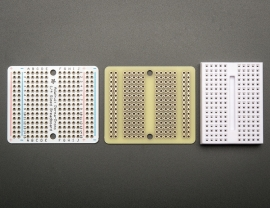 Adafruit Perma-Proto Quarter-sized Breadboard PCB - 3 Pack!