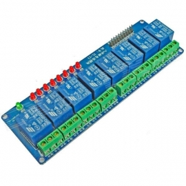 8-Channel 5V Relay Module Expansion Board