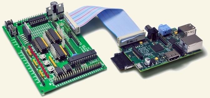 Gertboard IO Extender - Self soldering version