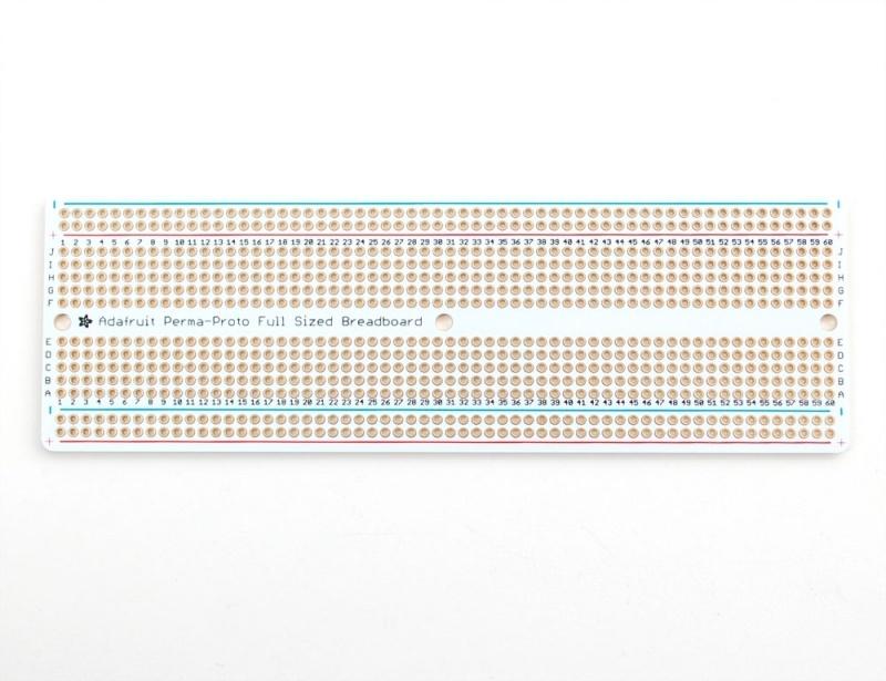 Adafruit Perma-Proto Full-sized Breadboard PCB - 3 Pack!
