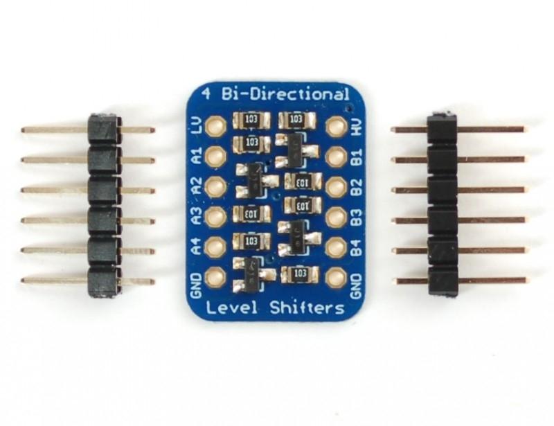 4-channel I2C-safe Bi-directional Logic Level Converter