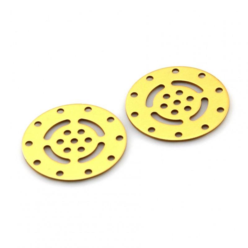 Disc-Gold (Pair)