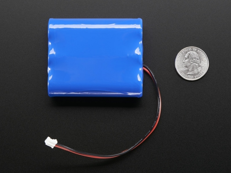 Lithium Ion Battery Pack - 3.7V 6600mAh