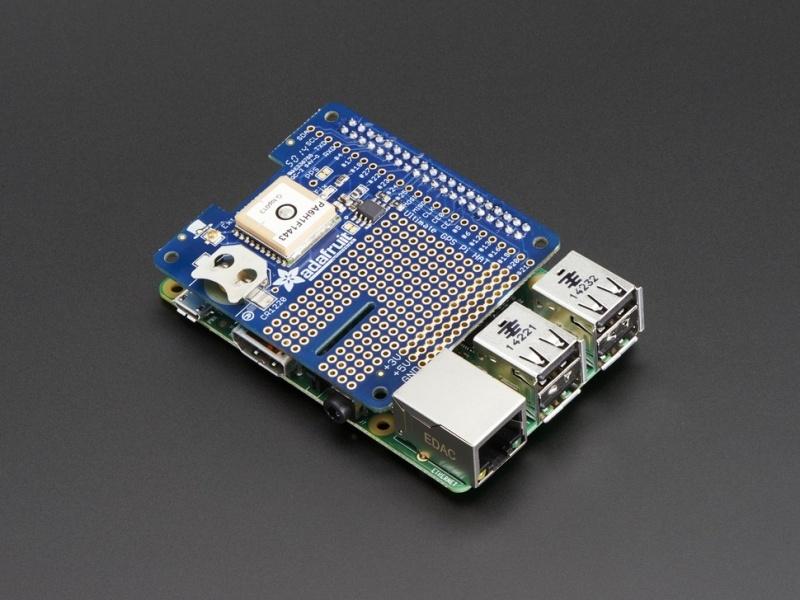 Adafruit Ultimate GPS HAT for Raspberry Pi A+/B+/Pi 2 - Mini Kit