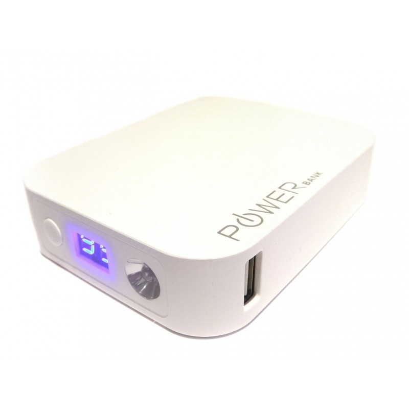 Power Bank - 8000mAh 5V 1A USB Portable Power Supply
