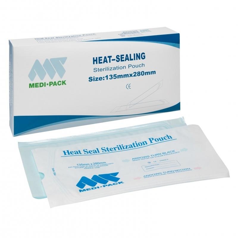 Sealbare Sterilisatiezakjes 135 mm x 280 mm