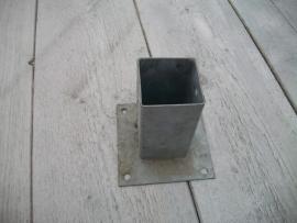 Paalvoet 7,0 x 7,0 cm