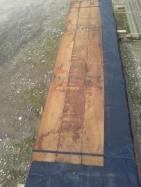 Beschoeiingsschot met doek 3 meter