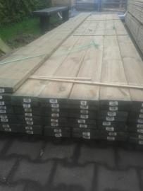 Plank geschaafd 2,8 x 14,5 x 500 cm.
