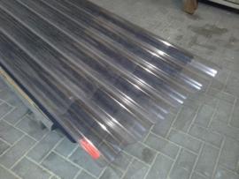 Polycarbonaat golfplaat 183x110 cm  enkelwandig
