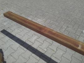 Regels 4,5 x 9,5 x 540 cm scandinavisch grenen nobifix