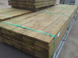 Plank geschaafd 2,8 x 19,5 x 400 cm.