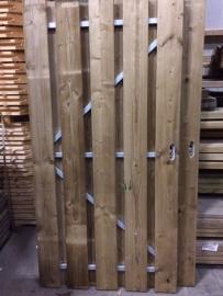 Tuindeur met stalen frame 180cm x 100cm