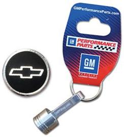 Chevrolet sleutelhanger piston