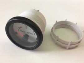 Performance Instrument Wit Brandstofniveau 52mm