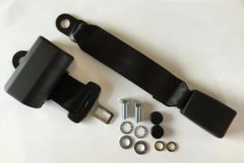 2-Point Lap Retractable Seat Belt  Black