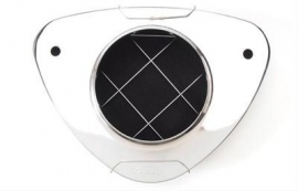 Luchtfilter Pro flo van Edelbrock chroom
