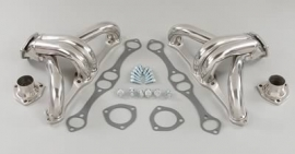 Block hugger chevrolet headers RVS