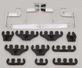 Ford bougiekabel geleider kit zwart