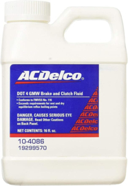GMW dot 4 brake and clutch fluid 10-4086 (473ml)