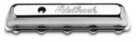 oldsmobile klepdeksels edelbrock chroom