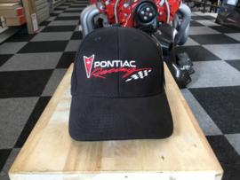 Baseball cap pontiac racing zwart