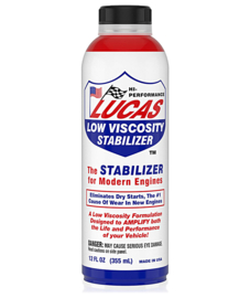 Lucas low viscosity stabilizer