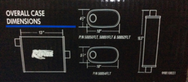 Uitlaatdemper flowtech raptor 2,5 inch