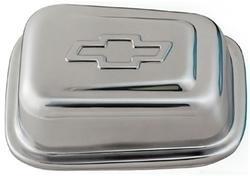 Chevrolet chrome breather vierkant