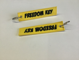 Freedom key sleutelhanger