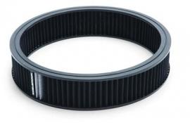 Edelbrock 14 x 3 inch zwart filter