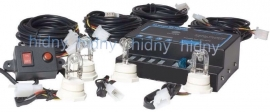 Strobe light kit 80 wat 4 bulbs