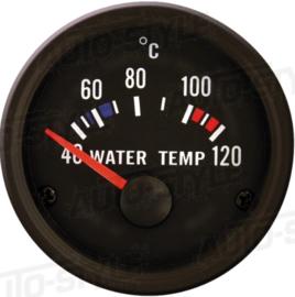 Performance Instrument Zwart Watertemperatuur 40-120C 52mm